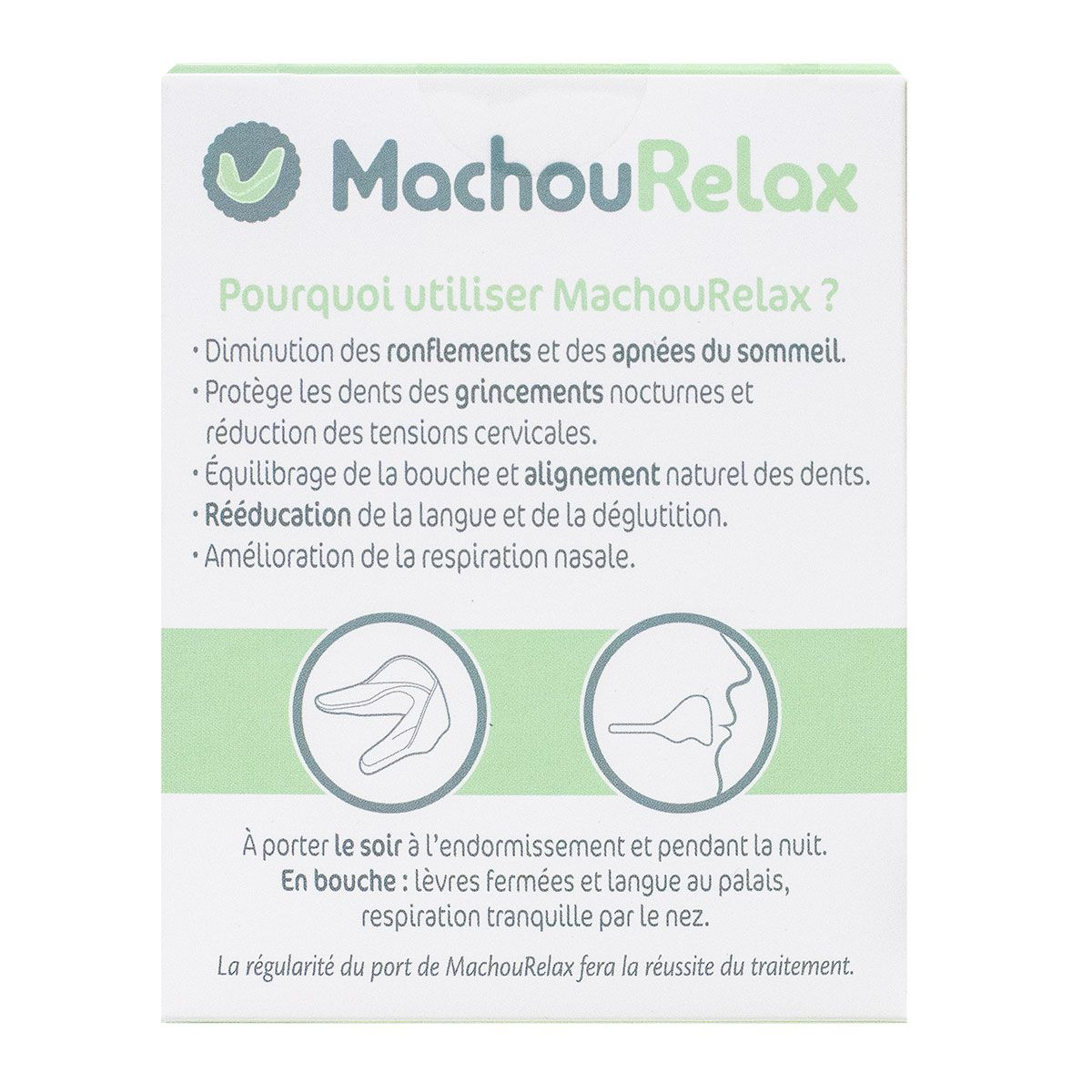 Machourelax gouttière dentaire relaxation adulte