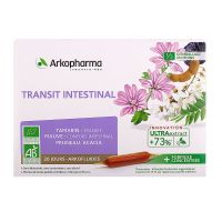 Arkofluides transit intestinal 20 ampoules