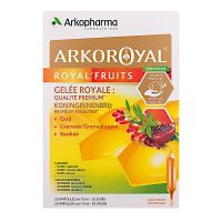 Arkoroyal royal'fruits 20x10ml