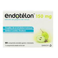 Endotélon 150 mg 60 comprimés