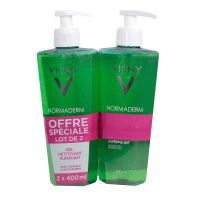 Normaderm gel nettoyant 2x400ml