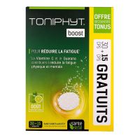 Toniphyt boost 45 comprimés effervescents