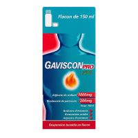 Gaviscon Pro suspension buvable 150ml