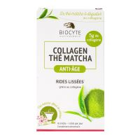 Collagen thé Matcha anti-âge 10 sticks