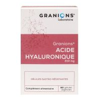 Acide hyaluronique 200mg 60 gélules
