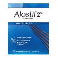 Alostil 2% application cutanée 3x60ml