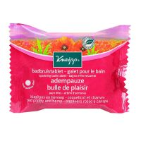 Galet bain coquelicot & chanvre 80g