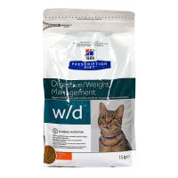 Chat w/d Digestive Weight poulet 1,5kg