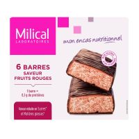 6 barres minceur fruits rouges