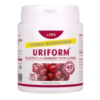 Uriform 40mg Cranberry 120 comprimés
