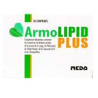 Armolipid Plus 30 comprimés