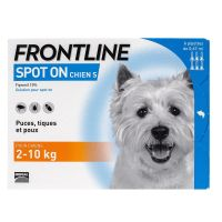 Spot On chien 2-10kg 6 pipettes