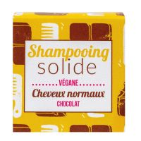 Shampooing solide cheveux normaux chocolat 55g