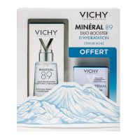 Coffret Mineral 89 texture riche 50ml et Aqualia 15ml