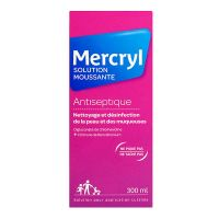 Mercryl solution moussante 300ml