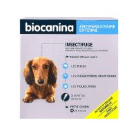 Spot-on petit chiens insectifuge 2x2,5ml