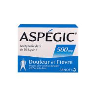 Aspégic 500mg 20 sachets