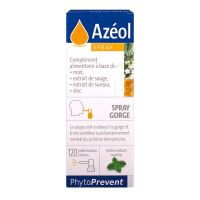 Azéol spray gorge 15ml