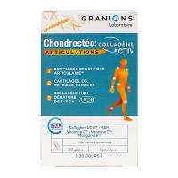 Chrondrosteo+ Collagene Activ articulations 30 gélules
