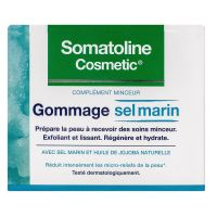 Gommage sel marin exfoliant et lissant 350g