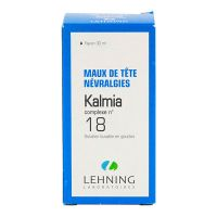 Kalmia complexe n°18 solution buvable 30ml