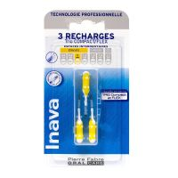 3 brossettes interdentaires recharges 2 Trio Compact/Flex