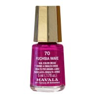 Mini Color vernis 5ml -70 Fushia Wave