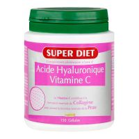 Acide hyaluronique vit C 150 gélules