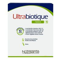Ultrabiotique fibres 10 sticks