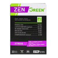 ZenGreen stress 30 gélules