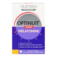 Optinuit flash mélatonine 30 comprimés