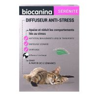 Diffuseur anti-stress chat + 1 recharge