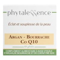 Argan-bourrache-Co Q10 60 gélules