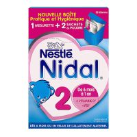 2ème âge lait 6-12M Bag in Box 700g