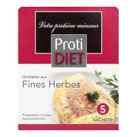 5 sachets omelette aux fines herbes