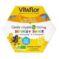 Gelée royale défenses plus junior 700mg