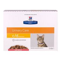 Chat c/d Multicare saumon 12x85g