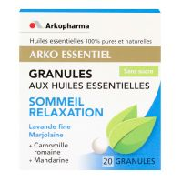 Sommeil relaxation 20 granules