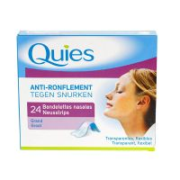 24 bandelettes nasales anti-ronflement - grand