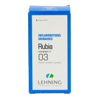 Rubia complexe n°3 solution buvable 30ml
