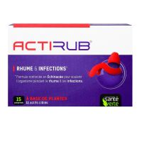 Actirub rhume & infections 15 comprimés