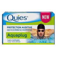 Aquaplug protection auditive 1 paire réutilisable