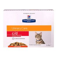 Chat c/d Urinary Stress poulet 12x85g