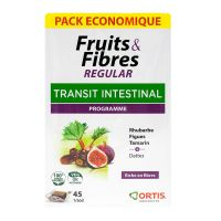 Fruits & fibres Regular Transit intestinal 45 cubes