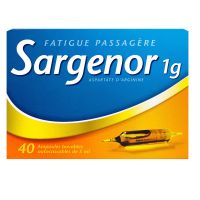 Sargenor 1g/5ml 40 ampoules x 5ml