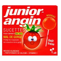 Junior-angin 8 sucettes