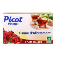 Tisane allaitement fruits rouges 20 sachets