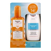 Coffret Sensitive Protect spray SPF50 200ml