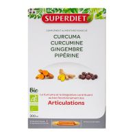 Articulations curcuma gingembre 20x15ml