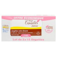 Lingettes intime extra-douces